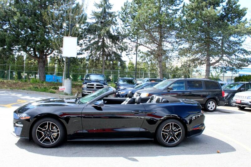 2018 Ford Mustang EcoBoost Premium Convertible  BC Car  Low Kms