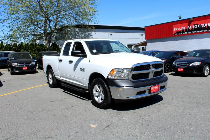 2017 RAM 1500 Express 4x4 Quad Cab| V6| BC Truck| No Accidents