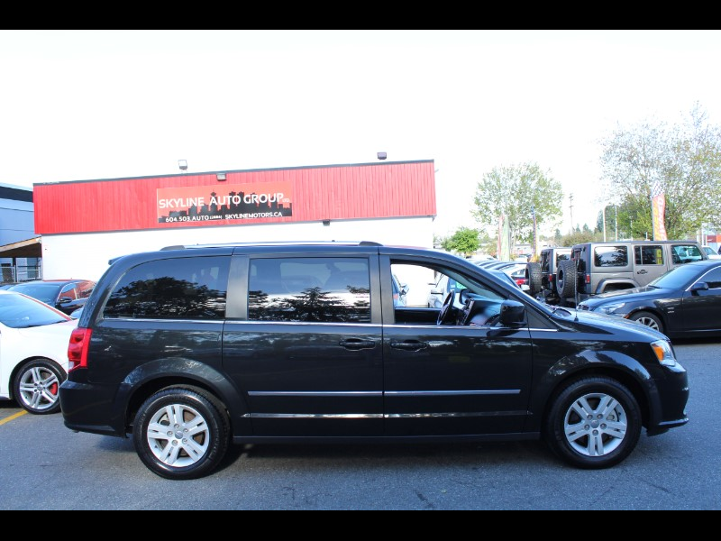 2017 Dodge Grand Caravan Crew| Very Comfortable Ride| No Accidents