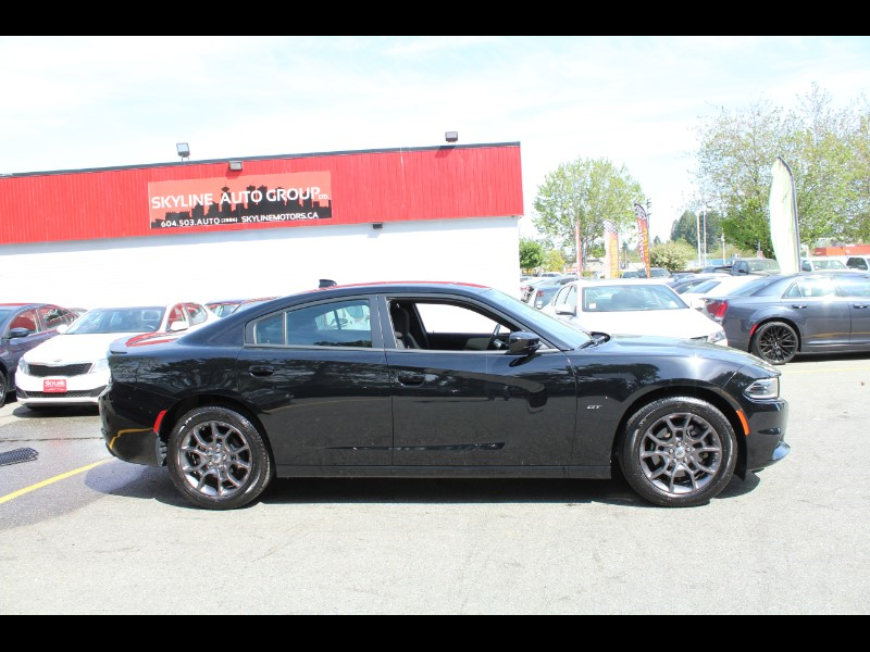2018 Dodge Charger GT AWD| Nav & Back-Up Cam| BC Car| No Accident