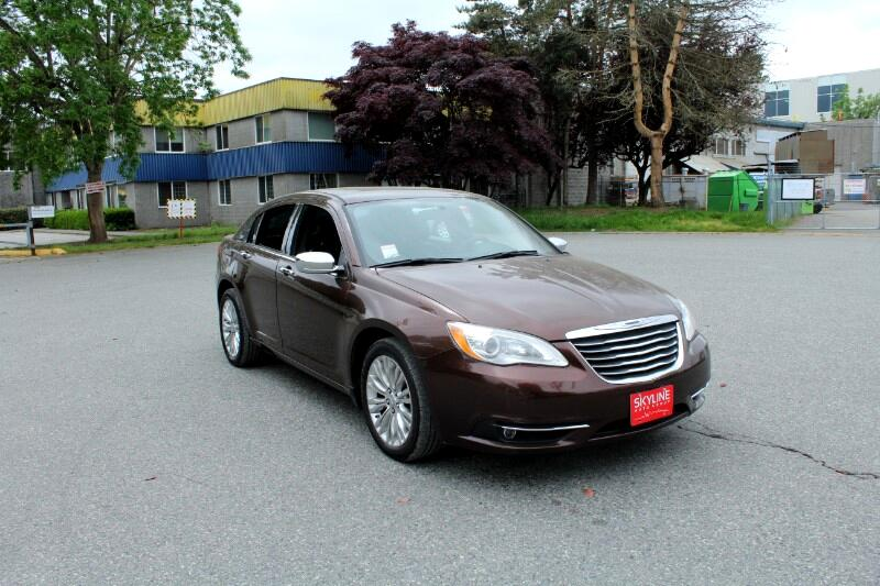 2013 Chrysler 200 Limited| Leather Seats| No Accidents