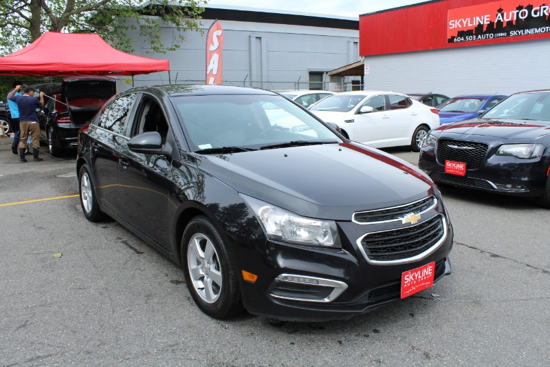 2015 Chevrolet Cruze 2LT Auto| Leather Interior & Back-Up Cam| BC Car|
