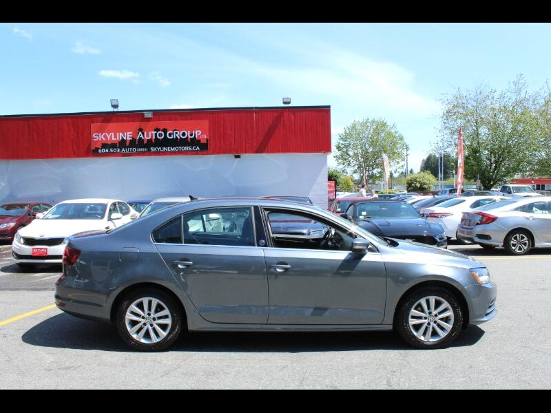 2017 Volkswagen Jetta 1.4 T Wolfsburg 6-Speed Auto| BC Car| No Accidents