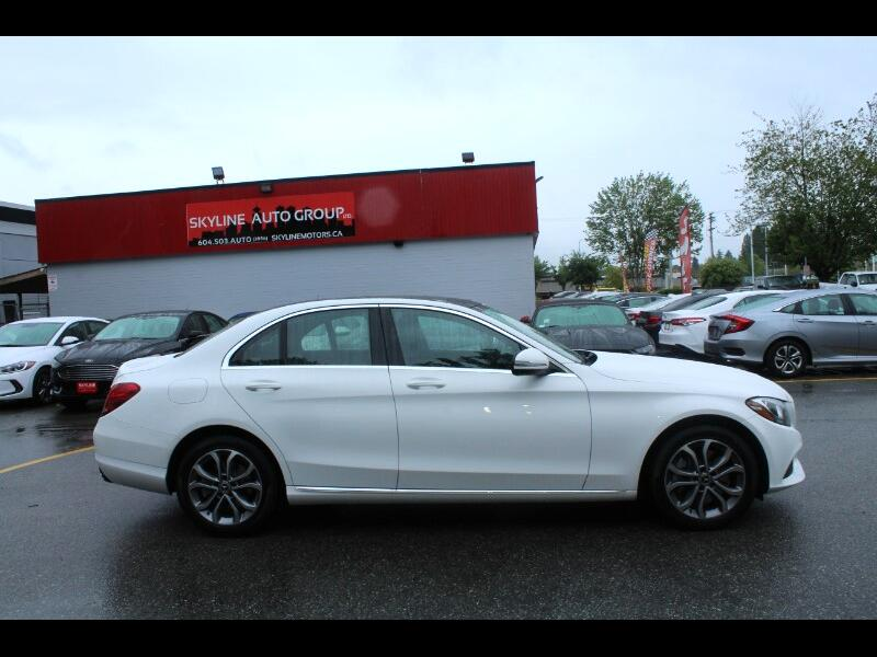 2017 Mercedes-Benz C-Class C300 4MATIC Sedan| Fully Loaded| No Accidents