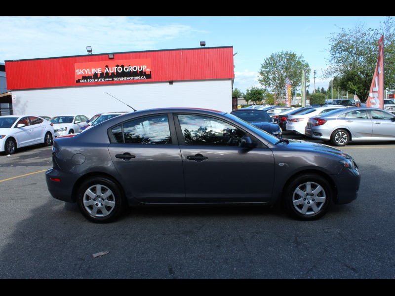 2007 Mazda MAZDA3 4dr Sdn| Manual |Canadian Vehicle |Great First Car