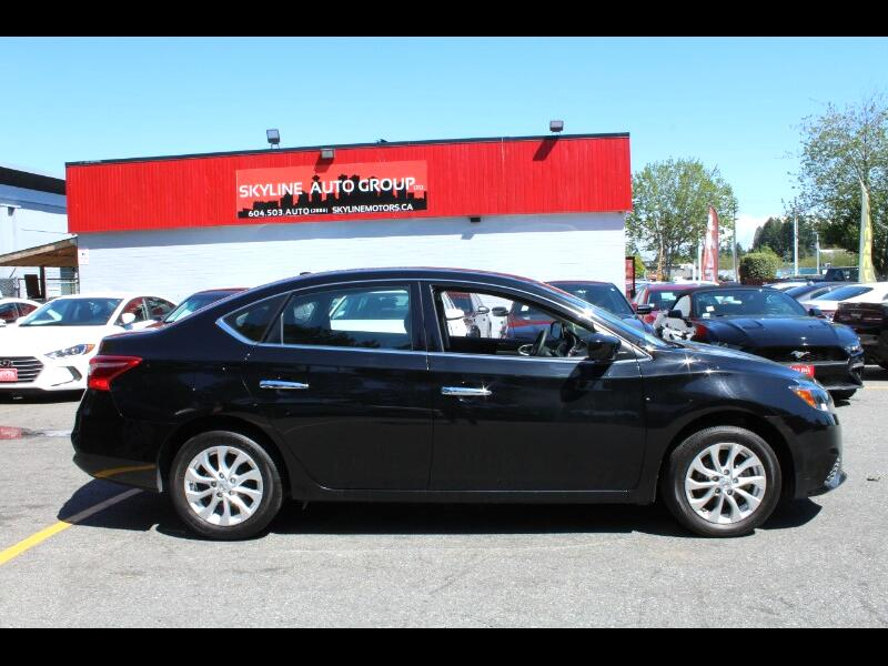 2018 Nissan Sentra SV| Sunroof & Nav| Low Kms| No Accidents