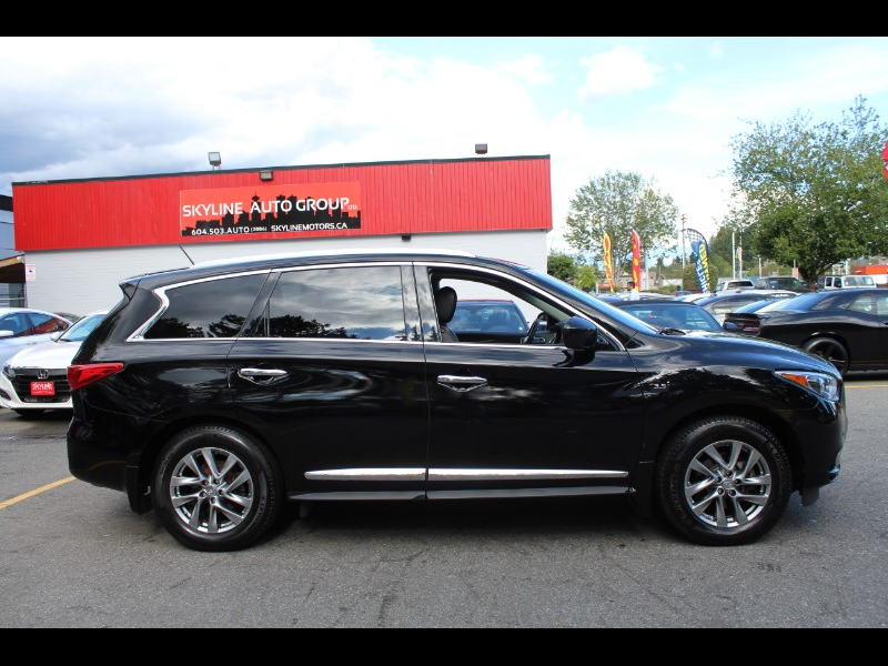 2015 Infiniti QX60 AWD| Leather| Sunroof| BC Car