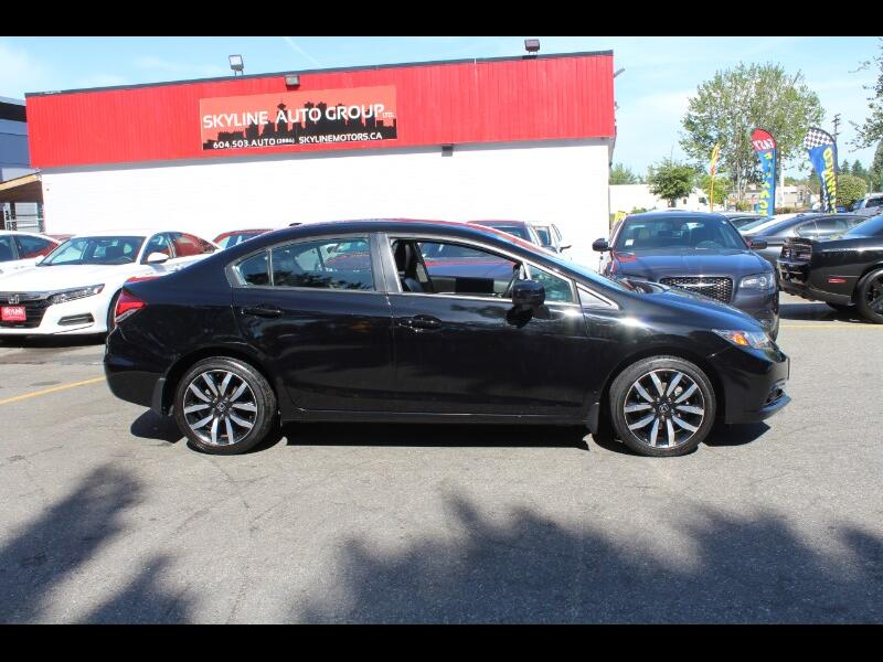 2015 Honda Civic 4dr CVT SE| Leather| Sunroof| BC Car