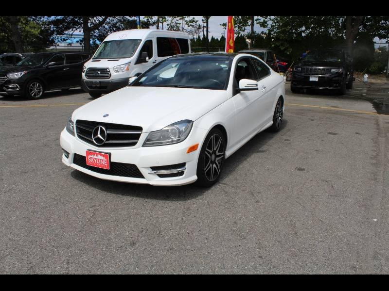 2014 Mercedes-Benz C-Class C350 Coupe 4MATIC| Sport Pkg| Pano Roof| BC Car