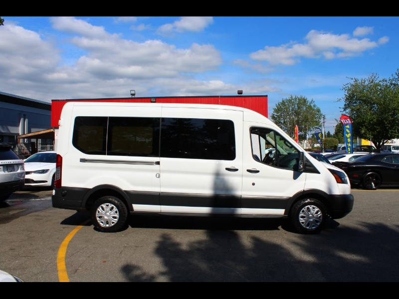 2015 Ford Transit 250 Van Med. Roof w/ Sliding Pass 148 inch WB  BC