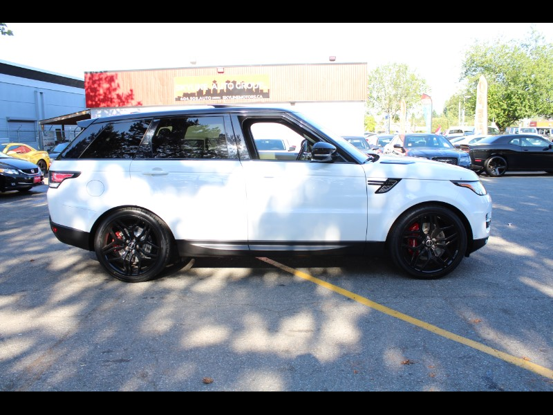2015 Land Rover Range Rover Sport Supercharged| Leather| Adaptive Suspension| V8