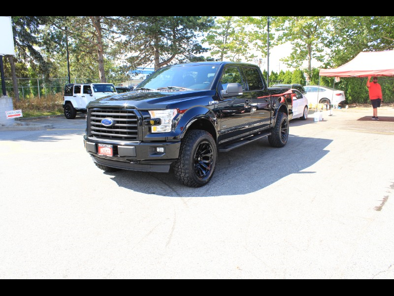 2017 Ford F-150 XLT SuperCrew 5.5