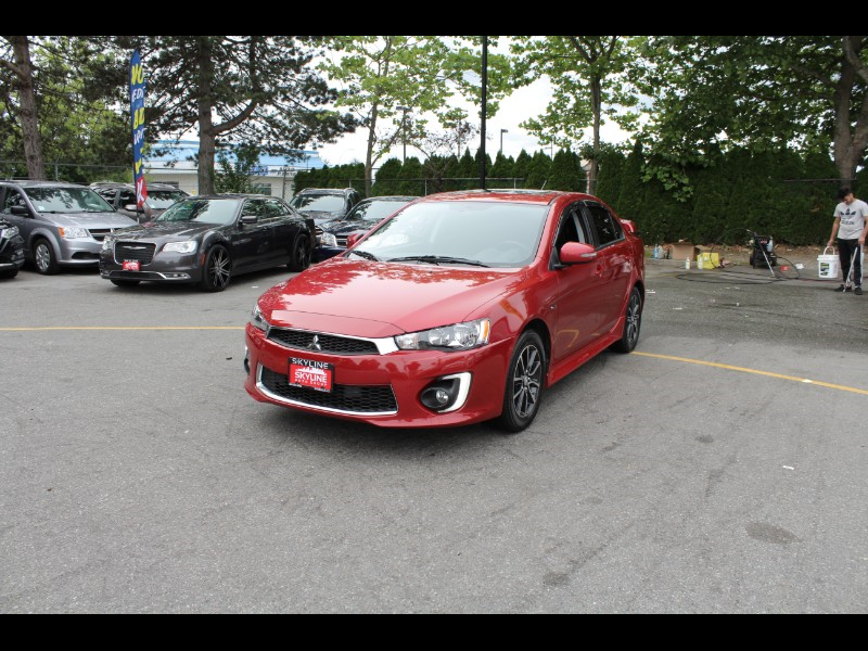 2016 Mitsubishi Lancer ES CVT| Sunroof| BC Car| No Accidents