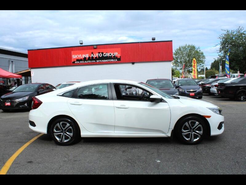2017 Honda Civic LX Sedan CVT| Back-Up Cam| Bluetooth| BC Car