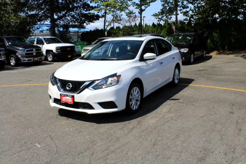 2018 Nissan Sentra SV CVT| Sunroof| Back-Up Cam| Very Low Kms