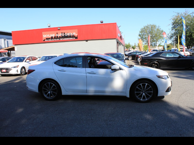 2015 Acura TLX 9-Spd AT SH-AWD| Technology Package| Blind Spot &