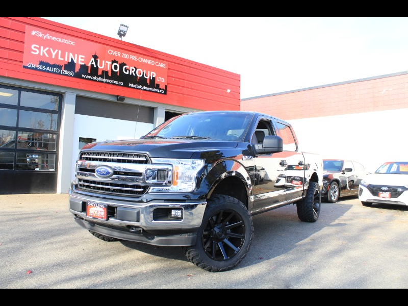 2018 Ford F-150 XLT SuperCrew 5.5' Bed 4WD  Back-Up Cam  No Accide