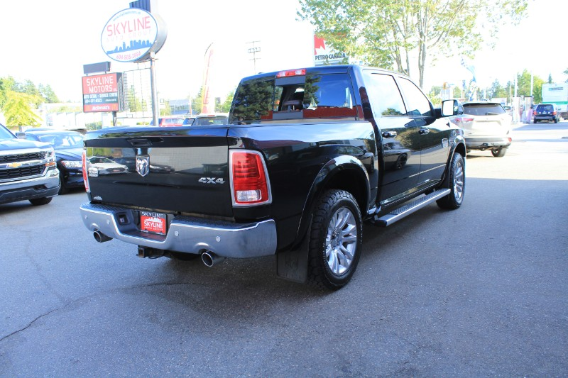 2015 RAM 1500 Longhorn Crew Cab SWB 4WD| Back-up Cam| Leather