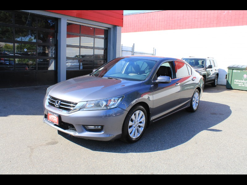 2015 Honda Accord EX-L V6 Sedan AT with Navigation| Sunroof| Leather