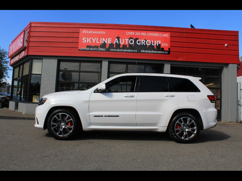 2018 Jeep Grand Cherokee SRT 4x4| Pano Roof| 5 Drive Modes| Launch