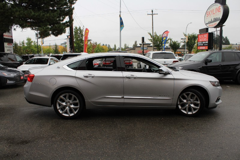 2018 Chevrolet Impala Premier| Pano Roof| Brown Leather| Blind Spot