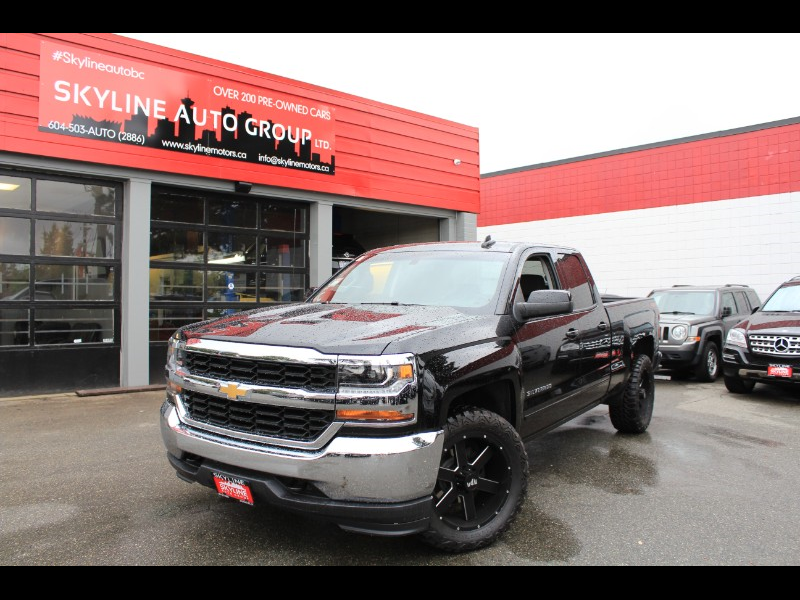 2018 Chevrolet Silverado 1500 LT Double Cab 4WD| Back-Up Cam| Chevy MyLink