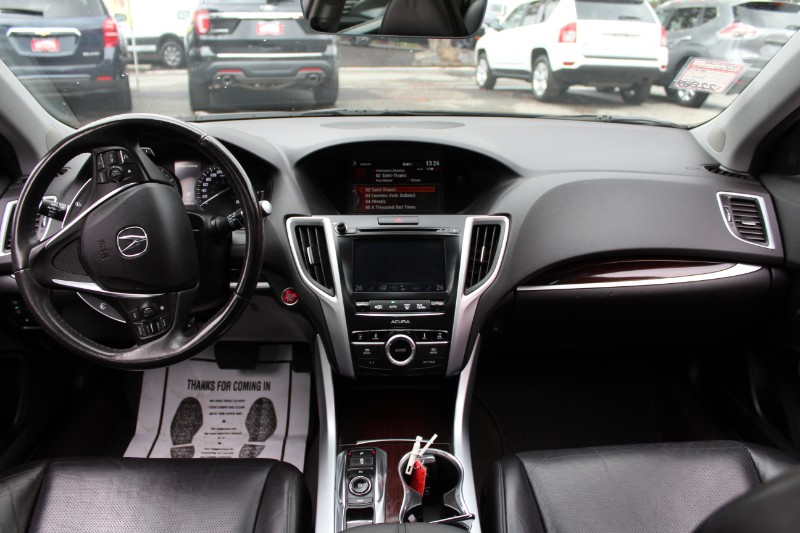 2015 Acura TLX 9-Spd AT SH-AWD| Technology Pkg| Leather| Sunroof