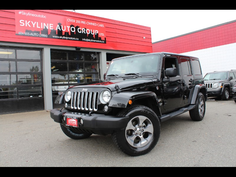 2018 Jeep Wrangler JK Unlimited Sahara 4WD| Runs Great| No Accidents