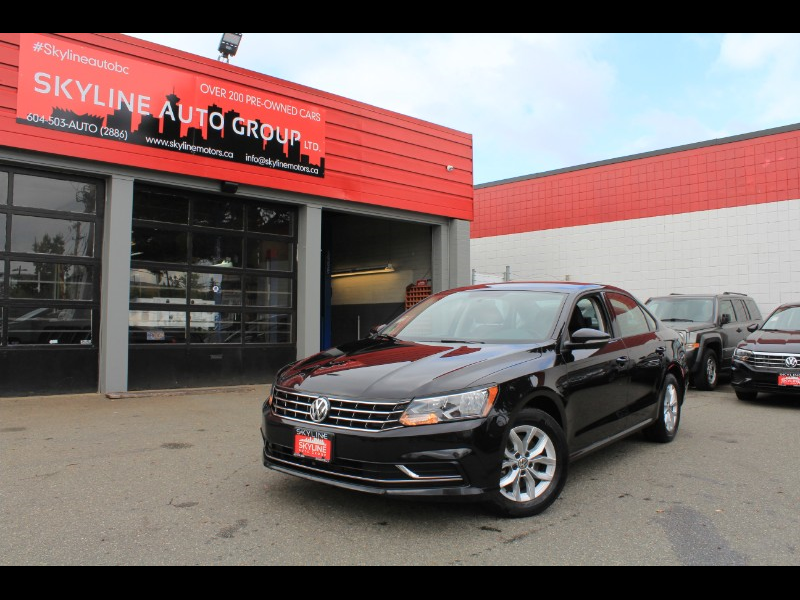 2018 Volkswagen Passat S| 6-Speed Auto| Back-Up Cam| BC Car