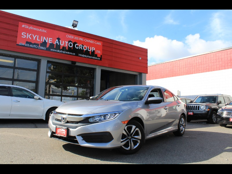 2017 Honda Civic LX Sedan CVT| Bluetooth| No Accidents