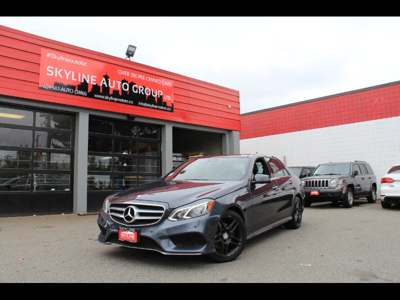 2016 Mercedes-Benz E-Class E250 Luxury BlueTEC 4MATIC Sedan| Diesel| Pano Roo