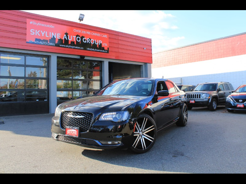 2019 Chrysler 300 S V6 RWD| Pano Roof| Leather Heated Seats| Nav
