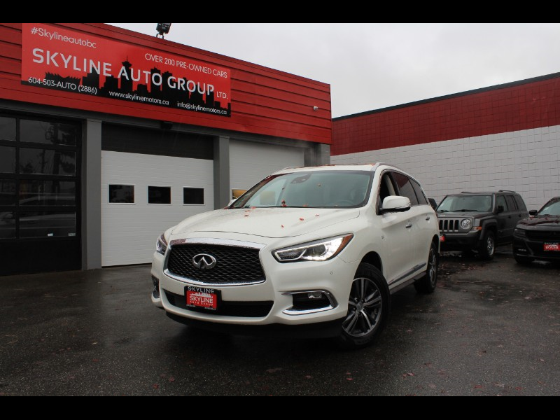 2019 Infiniti QX60 PURE AWD| 360° Cam| Brown Leather| No Accidents