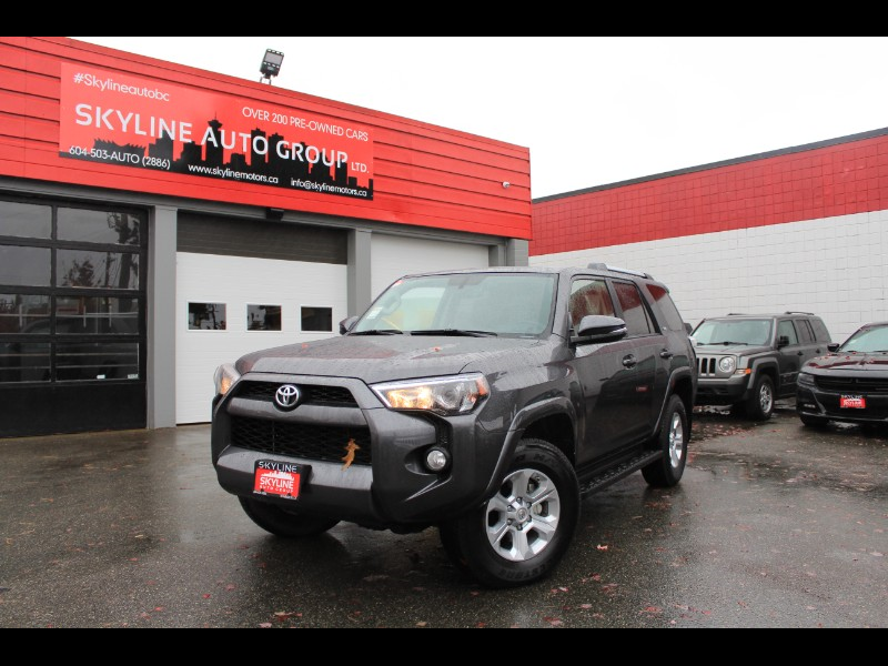 2019 Toyota 4Runner SR5 4WD| Sunroof| Leather| Heated Seats| No Accide