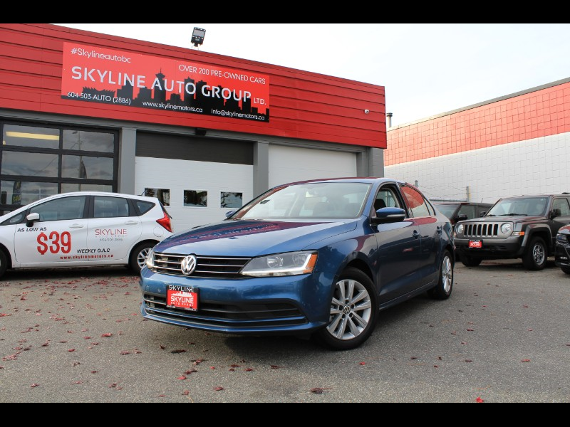 2017 Volkswagen Jetta 1.4T SE 6A| Sunroof| Heated Seats| No Accidents