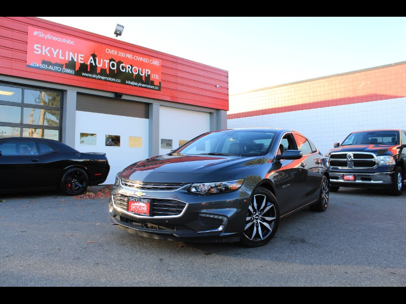 2018 Chevrolet Malibu LT| Leather| Pano Roof| No Accidents