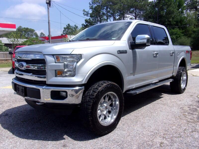 "Ford F-150 4WD SuperCab 145"" Lariat 2015"