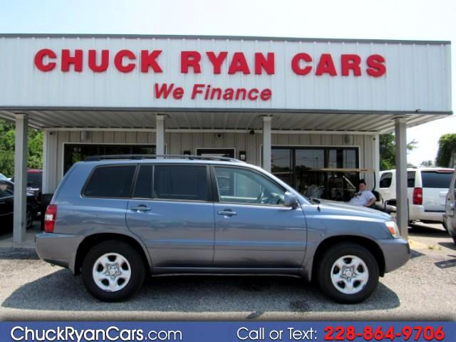 2006 Toyota Highlander 4dr 4-Cyl (Natl)