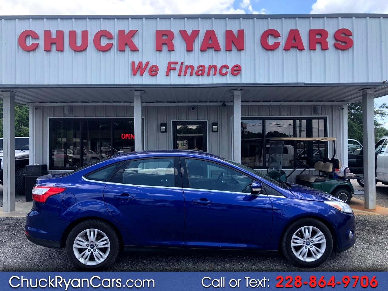 2012 Ford Focus 4dr Sdn SEL