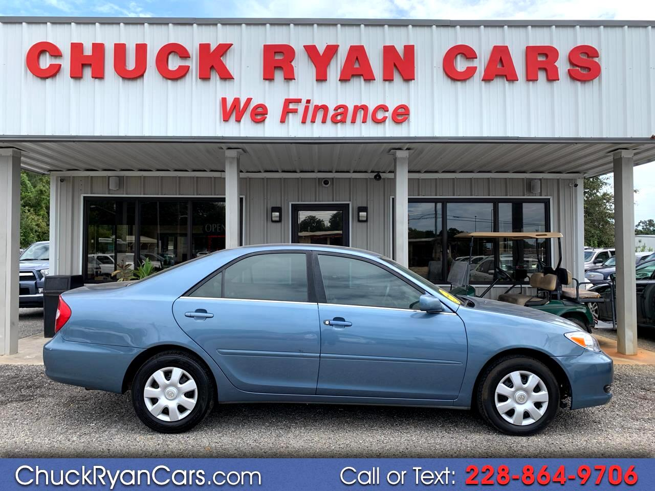 2004 Toyota Camry 4dr Sdn LE Manual (Natl)