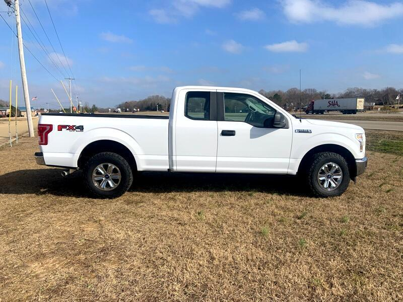 Ford F-150 XL SuperCab 8-ft. Bed 4WD 2017