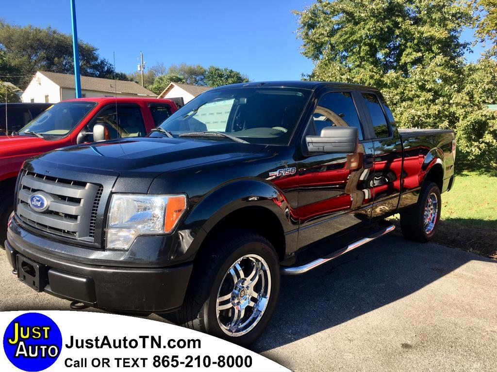 "2010 Ford F-150 4WD SuperCab 145"" XL"