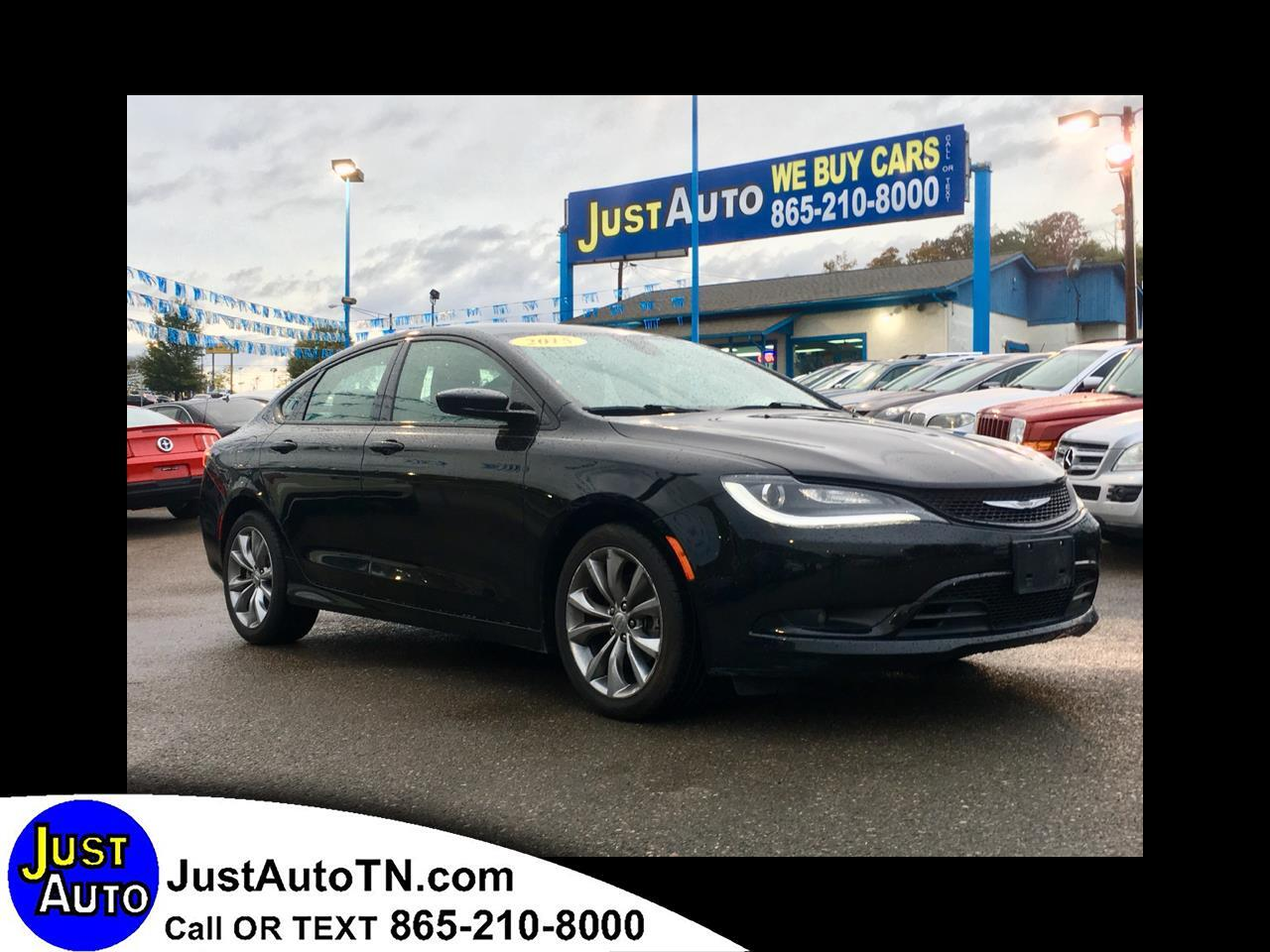 2015 Chrysler 200 4dr Sdn LX
