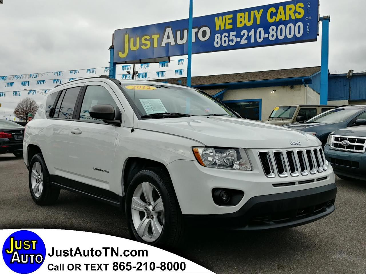 used 2012 jeep compass fwd 4dr sport for sale in knoxville tn 37912 just auto leasing. Black Bedroom Furniture Sets. Home Design Ideas