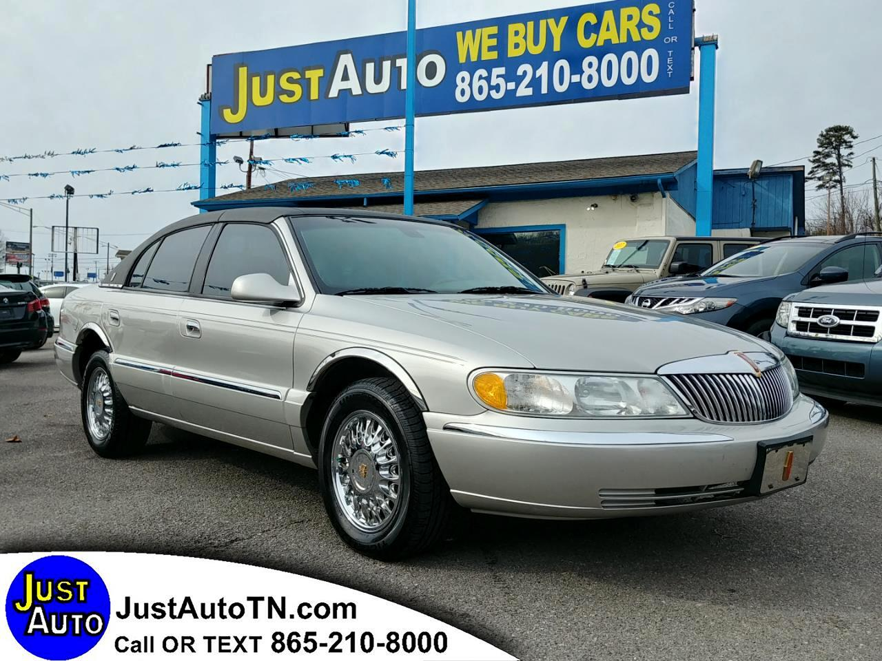 2002 Lincoln Continental 4dr Sdn w/Personal Security