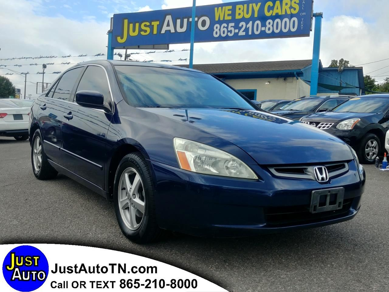 2004 Honda Accord Sdn EX Auto w/Leather/XM