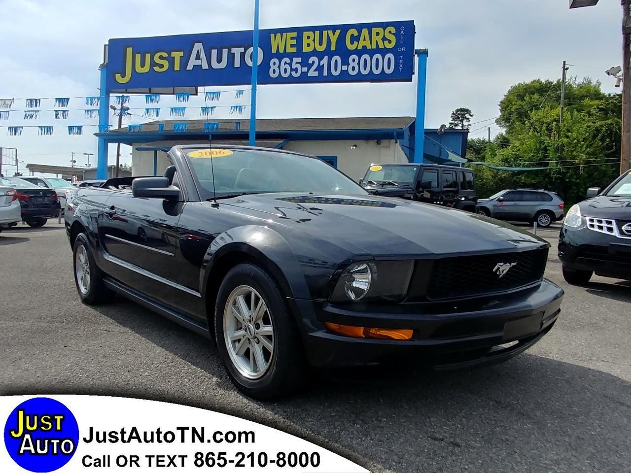 2006 Ford Mustang 2dr Conv Standard