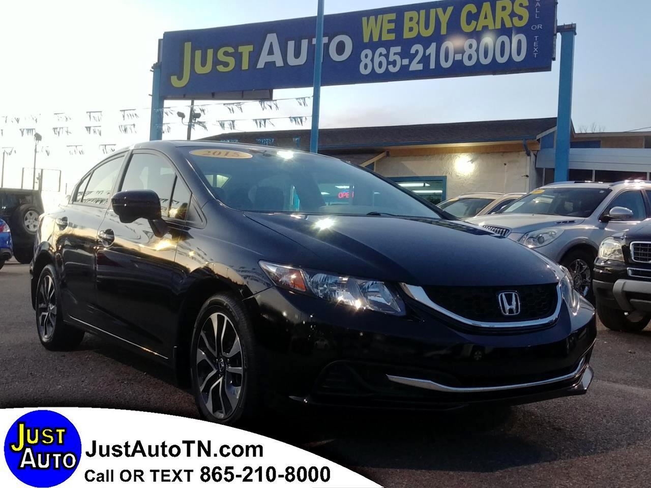 Honda Civic Sedan 4dr CVT EX 2015