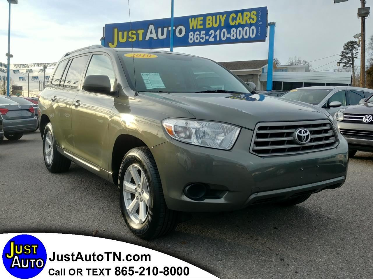 Toyota Highlander FWD 4dr V6 Base (Natl) 2010