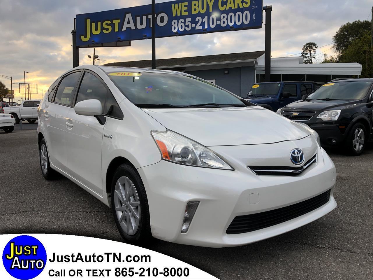 Toyota Prius V 5dr Wgn Two (Natl) 2013